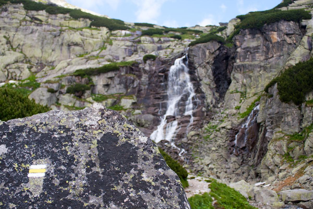Waterfall Skok - High Tatras in Slovakia