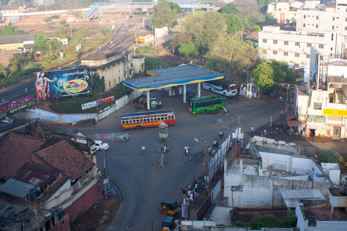 Thanjavur - petrol station