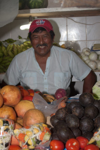 Vendor in Mexico
